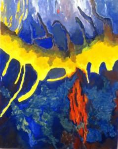 ST. HANS - Acryl auf Lw. 100x80 cm